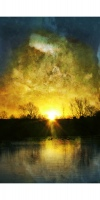 Sunrise - 18 x 12 inch photographic print