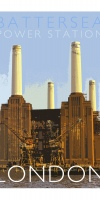 Battersea Power Station Poster. Signed and numbered.