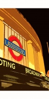 Tooting Broadway Poster - A2 (594x420) Signed and numbered